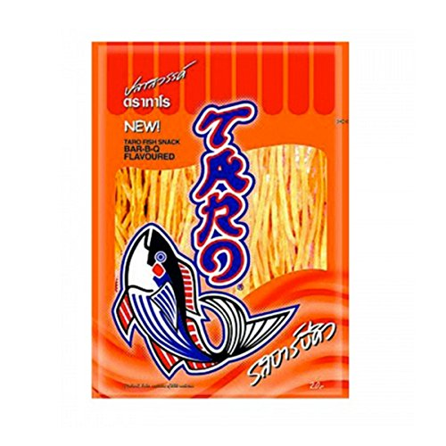 Thai Taro Fish Snack BBQ Flavor 7.5g (Pack of 12) (Sunflower Gas Burner Covers compare prices)