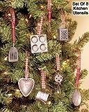 Miniature Kitchen Utensils Christmas Tree