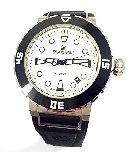 Orologio SWAROVSKI Octea Abyssal White Men orologio subacqueo 1124148