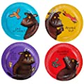 The Gruffalo Party Plates x 8