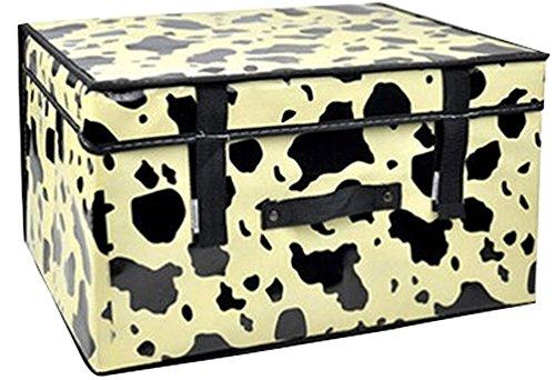 Spinning boîte de rangement boîte à gants étanches ne contenant Box vache