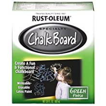 Rust-Oleum 206438 Chalkboard Brush-On, Green, 30-Ounce