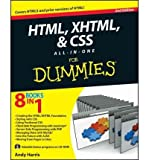 img - for HTML, XHTML and CSS All-In-One For Dummies By Andy Harris book / textbook / text book