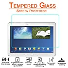 Anoke® Samsung Galaxy Note 10.1 2014 Edition 10.1 inch Tablet (SM-P600/ SM-P601) Tempered Glass Screen Protectors 9h Hardness