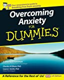 Elaine Iljon Foreman Overcoming Anxiety For Dummies, UK Edition