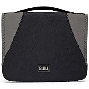 BUILT Neoprene Convertible Case for all iPads, Black and Granite