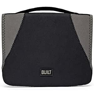 BUILT Neoprene Convertible Case for all iPads, Black and Granite