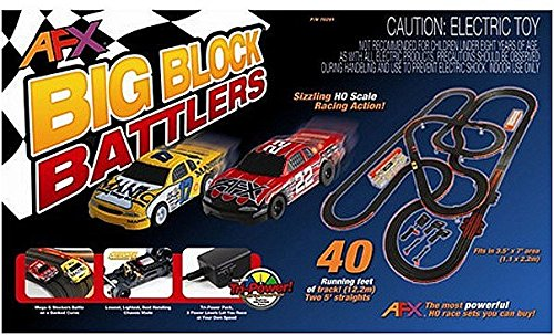 AFX Big Block Battler Mega G Set with Tri-Powe AFX70291 (Afx Slot Car Race Track Sets compare prices)