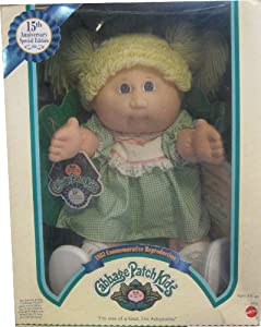 "16"" CABBAGE PATCH KIDS 15TH ANNIVERSARY SPECIAL EDITION DOLL"