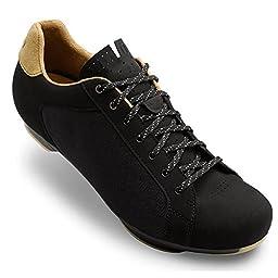 Giro Republic Road Cycling Shoes Black Canvas/Gum 44