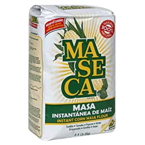 Maseca Corn Masa Mix, 4.4-Pound Package (Pack of 5)