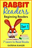 Rabbit Readers - Beginning Readers - 7 Sight Word Early Readers for Beginner Readers: Kindergarten and Preschool: Set 1