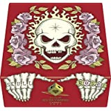 Skull and Roses Red