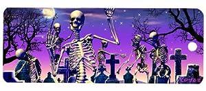 3D Bookmark - Skeletons Moonlight Boogie - Cheatwell Games