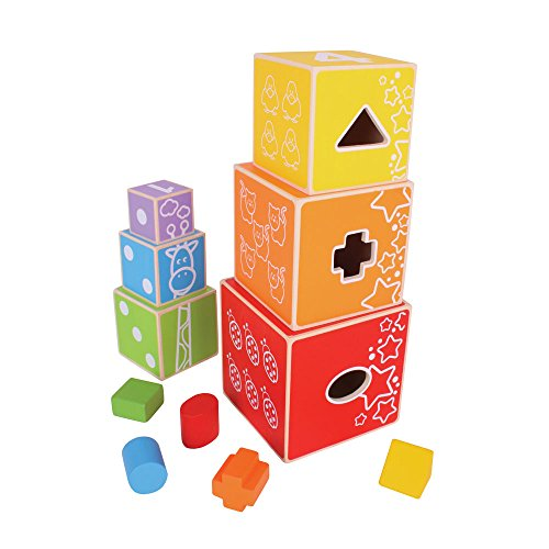 Bigjigs Baby Stacking Cubes
