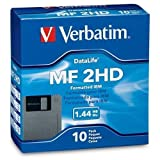 Verbatim 3.5In HD 1.44MB Pre-Fmt IBM 10Pk
