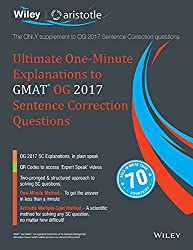 Wileys Ultimate One-Minute Explanations to GMAT OG 2017 Sentence Correction Questions