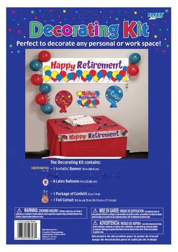 Creative Converting Happy Retirement Decorating Kit