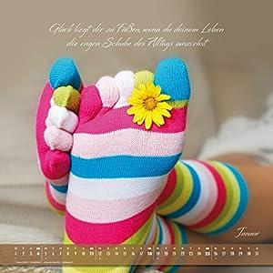 Lebensfreude Tag für Tag Kalender 2015 - Bildkalender (33 x 33) - mit Zitaten und Foliendeckblatt