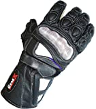 Save Price  Airflow Leather Motorbike Racing Protection Gloves Carbon Kevlar All sizes