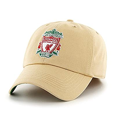 Official Liverpool FC Light Gold Fitted Ballcap