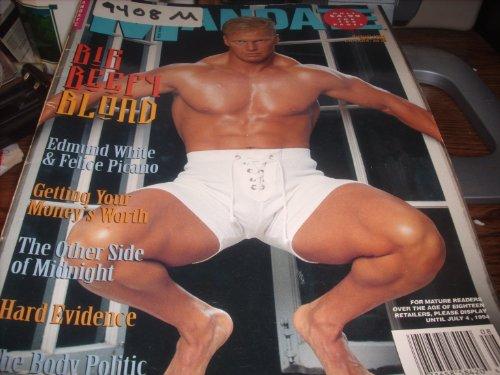 Mandate Adult Men's Gay Magazine August 1994 Big Beefy Blond PDF