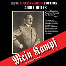 Mein Kampf: The Ford Translation Audiobook by Adolf Hitler, Michael Ford (translator) Narrated by James Smith