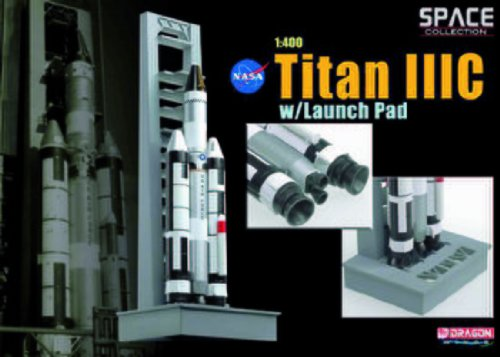 Dragon Models 1/400 Titan IIIC With Launch Pad