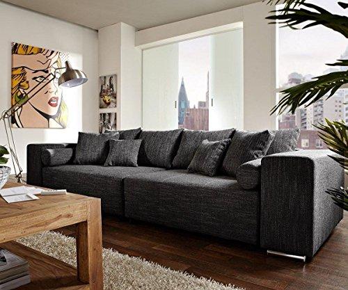 Couch Marbeya Schwarz 290x110