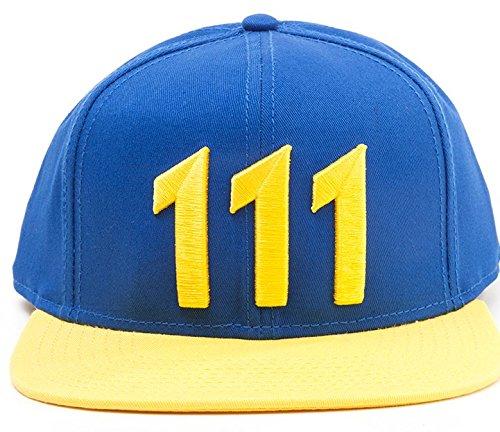 4 Fallout Vault 111 snap back Cap berretto cappellino berretto paralume
