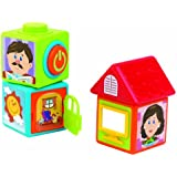 Happy Kid Toy Group Activity Story Blocks