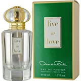 Oscar De La Renta Live In Love Eau De Parfum Spray for Her 50ml