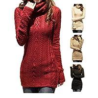 V28� Women Polo Neck Knit Stretchable…