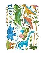 Ambiance Live Vinilo Decorativo Small Colorful Dinosaurs