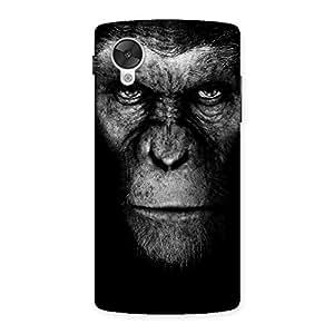 Black King Chimp Back Case Cover for Google Nexsus 5