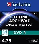 Verbatim 43826 M-Disc DVD-R Rohlinge