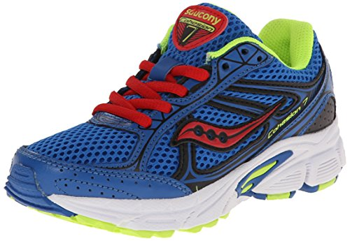 Saucony Boys'  Cohesion 7 Lace Running Shoe (Little Kid/Big Kid)