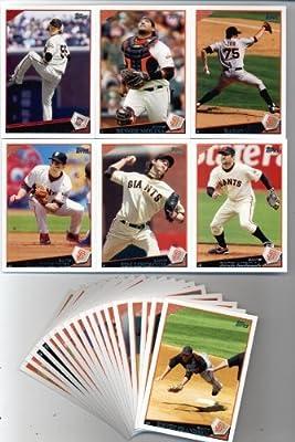 2009 Topps Baseball San Francisco Giants Team Set (24 cards)