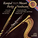 Mozart: Concerto for Flute, Harp and Orchestra in C Major, K. 299; Concerto in C Major for Oboe and Orchestra; Rondo in D Major for Flute and Orchesta [Clean]