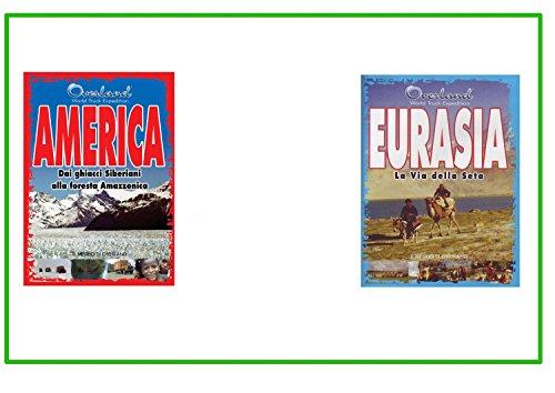 Offerta 2 DVD Il Meglio di Overland America, Eurasia Documentario Viaggi ed Avventura