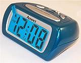 Teal LCD Alarm Clock