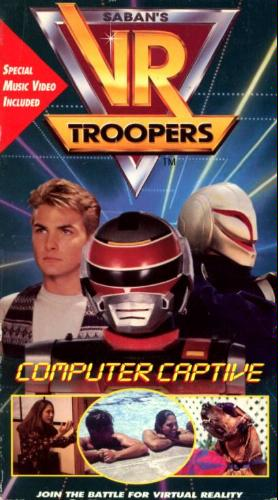 Amazon.com: Computer Captive [VHS]: Vr Troopers
