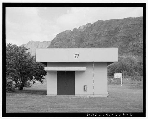 Historic Photo Naval Magazine Lualualei Headquarters