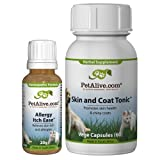 PetAlive Allergy Itch Ease and Skin & Coat Tonic ComboPack Reviews