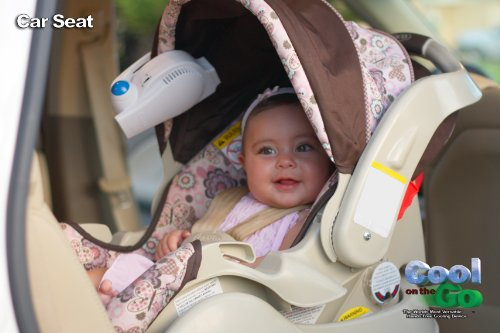Car Seat Fan Cool On The Go