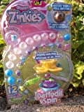 Best Value Squinkies Zinkies - Display & Play ~ Daffodil Spin with 12 Squinkies New for 2013