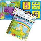 Bath Book for Babies and Toddlers Numbers in the Jungle Numbers in the Jungle