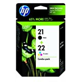 HP 21/22 Ink Cartridge-Combo Pack for $27.01 + Shipping