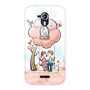 Gorgeous Swing Love Multicolor Back Case Cover for Micromax Canvas Magnus A117
