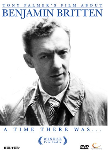 ベンジャミン・ブリテンのドキュメント『A Time There Was』の商品写真